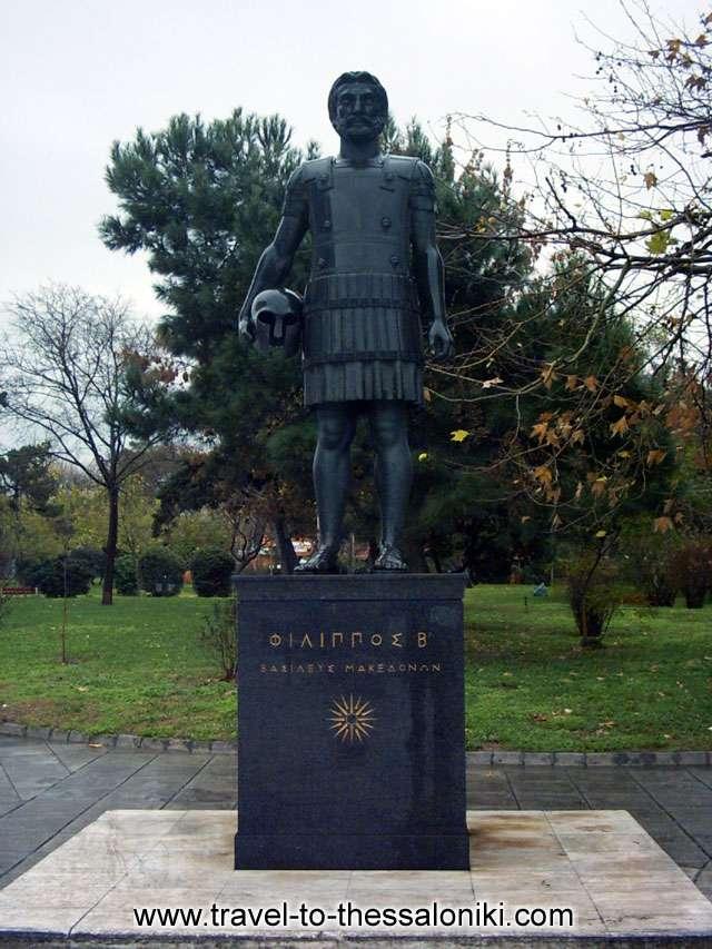 Filippos statue -