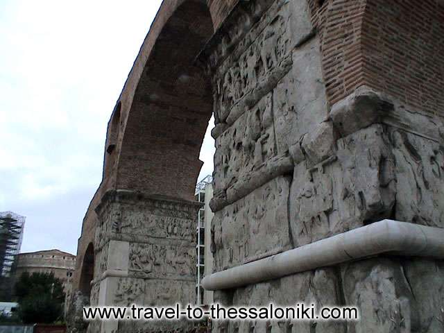 THESSALONIKI PHOTO GALLERY - Kamara (Galerius arch)