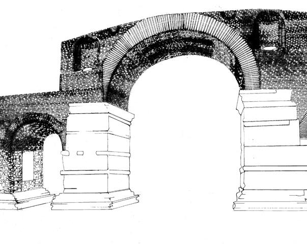 Galerius Arch or Kamara -