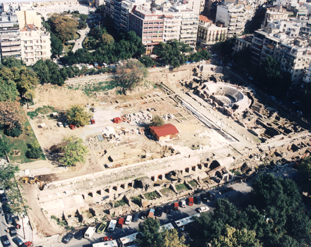 The Ancient Forum of Thessaloniki -
