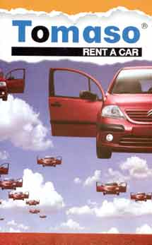 TOMASO RENT A CAR  RENT A CAR IN  43, Meg. Alexandrou Ave.