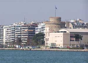 Thessaloniki stretches for seven and a half miles (12 km) along the Thermaikos Kolpos (Thermaic, or warm, Gulf), and is the economic and cultural capital of northern Greece. This energetic city with a population of one million is steeped in history and is today a metropolis marked by a blend of inf...